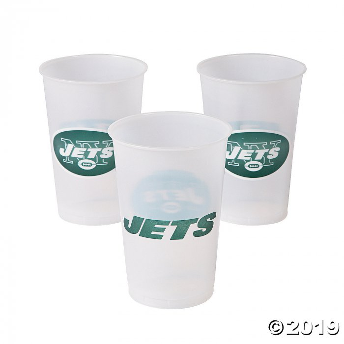 NFL® New York Jets Plastic Cups (8 Piece(s))