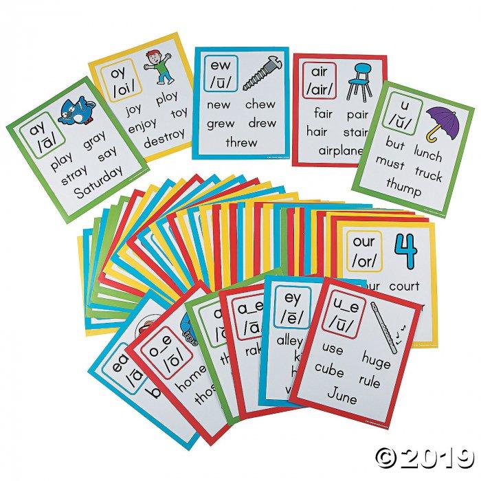 Phonemic Awareness Poster Set- Vowels (1 Set(s))