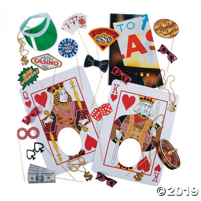 Casino Photo Booth Kit (41 Piece(s))