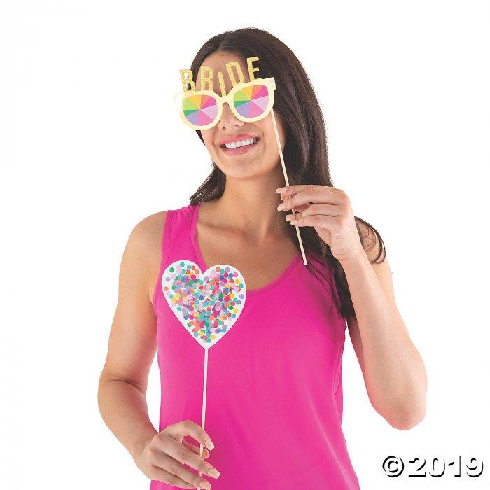 Bachelorette Bash Photo Stick Props (10 Piece(s))