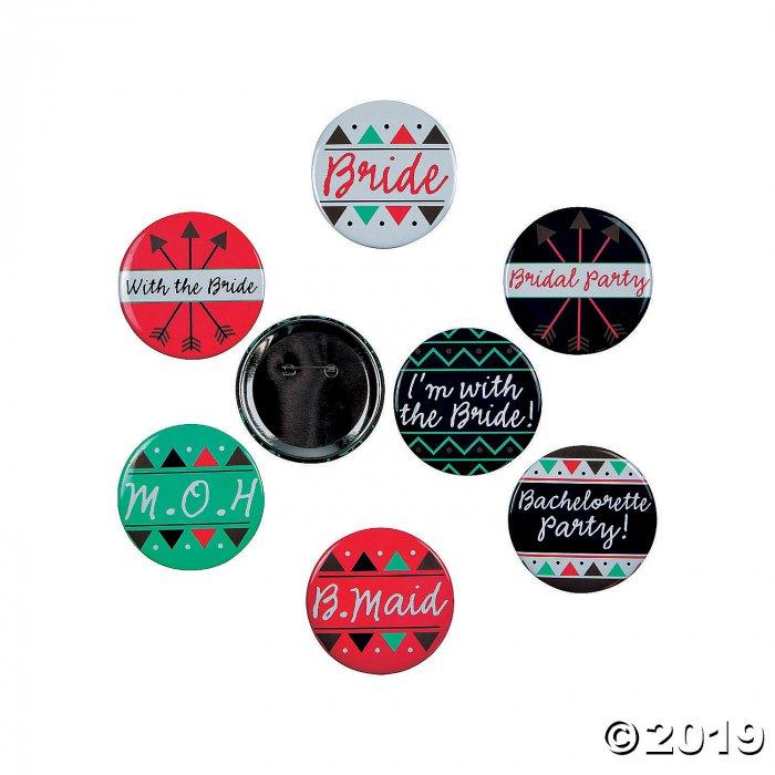 Bachelorette Party Buttons (Per Dozen)