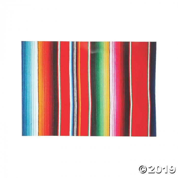 Serape Print Paper Placemats (50 Piece(s))