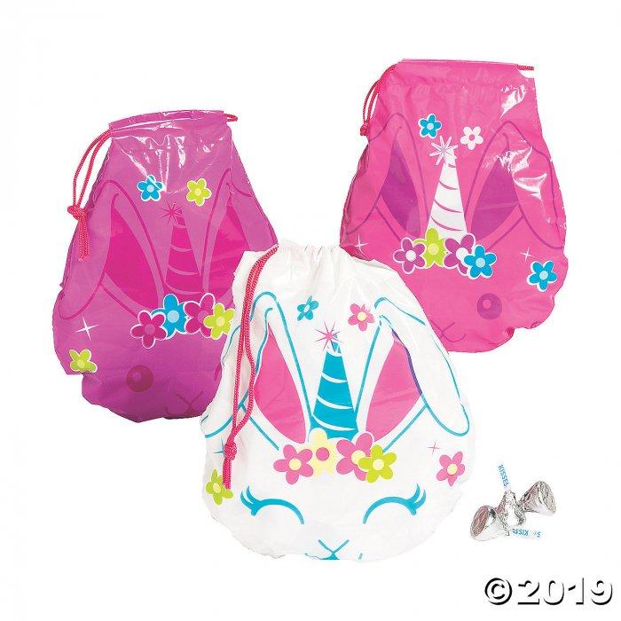 Easter Anicorn Drawstring Goody Bags (72 Piece(s))