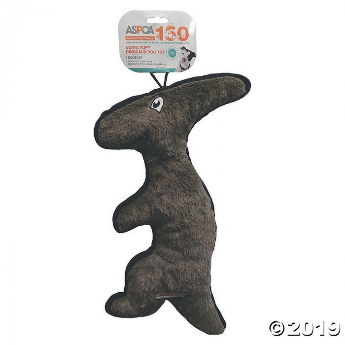 Dinosaur Dog Toy-Parasaurolophus-Gray (1 Piece(s))