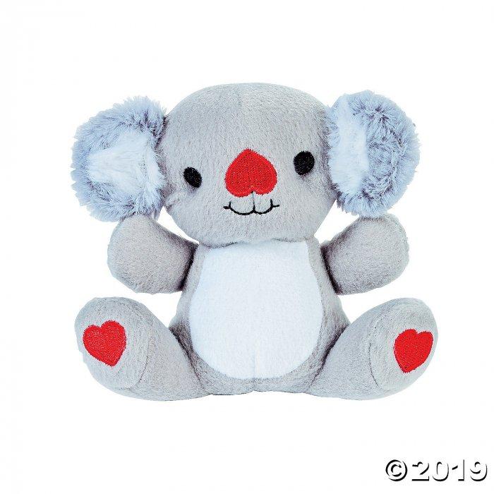 Valentine Stuffed Koalas (Per Dozen)