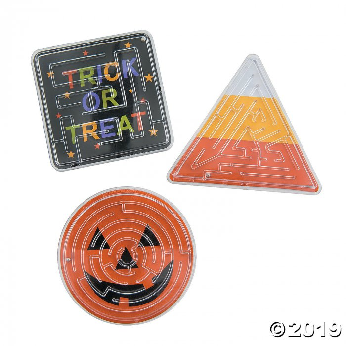 Halloween Trick-or-Treat Maze Puzzles (24 Piece(s))
