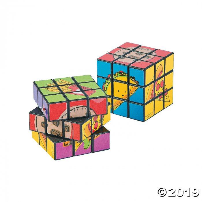 Fast Food Mini Puzzle Cubes (Per Dozen)