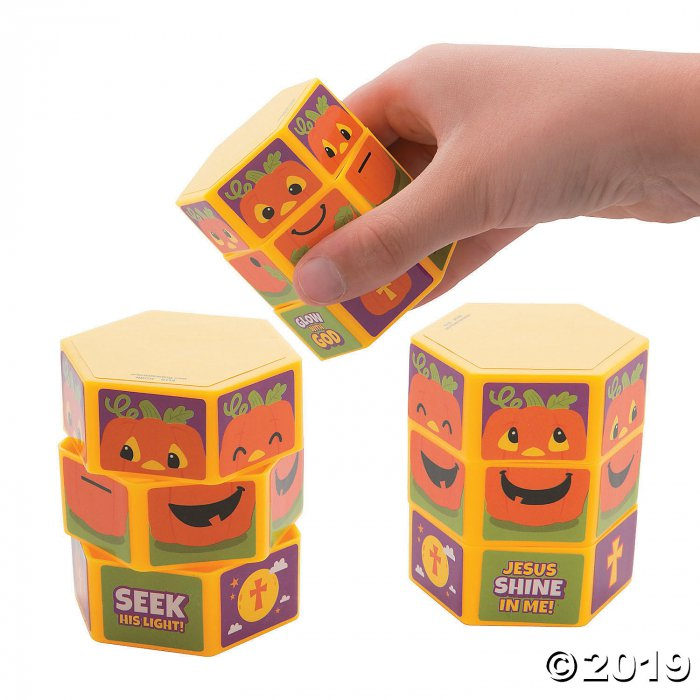 Christian Pumpkin Twisty Puzzles (Per Dozen)