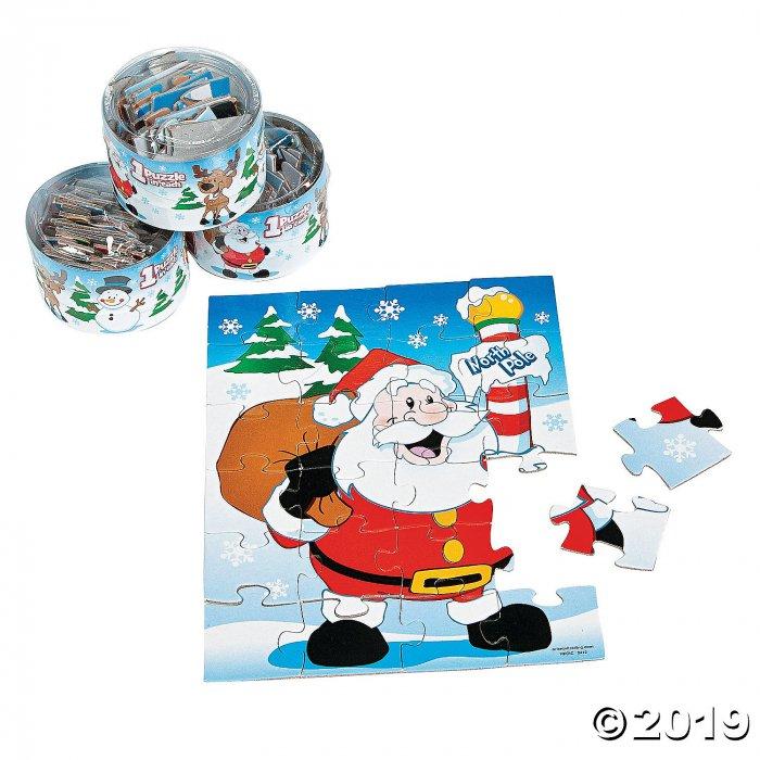 Snow Buddies Christmas Puzzles (Per Dozen)