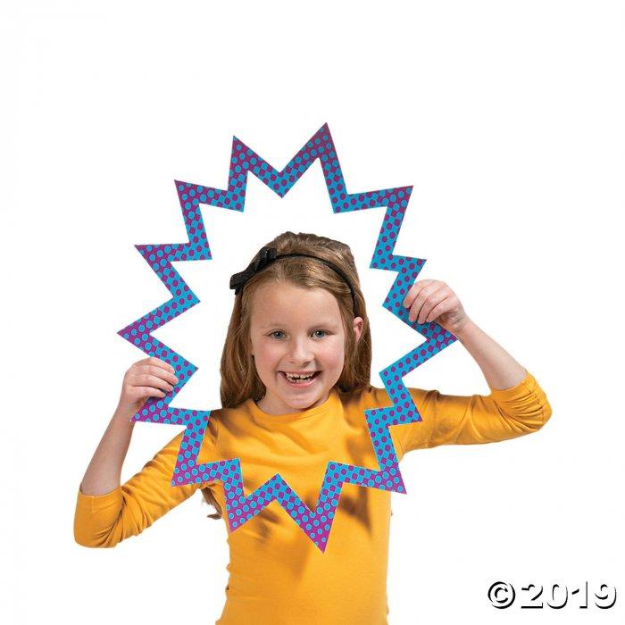 Girl Superhero Photo Booth Props (1 Sheet(s))