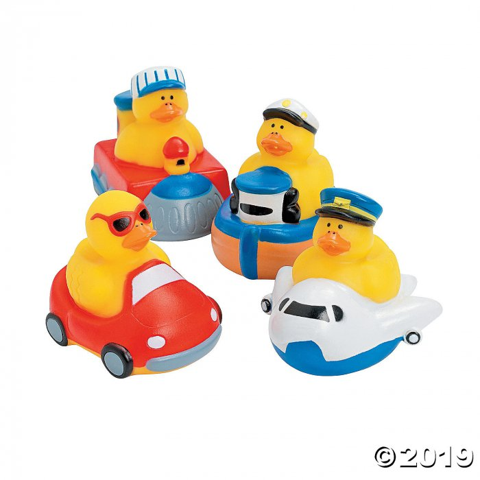 Transportation Rubber Duckies (Per Dozen)