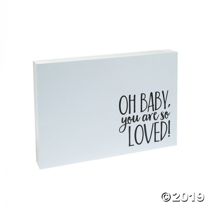 Baby Shower Guest Book Sign (1 Piece(s))