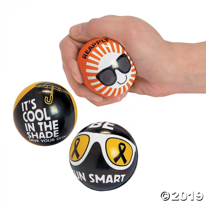 Melanoma Awareness Stress Balls (Per Dozen)