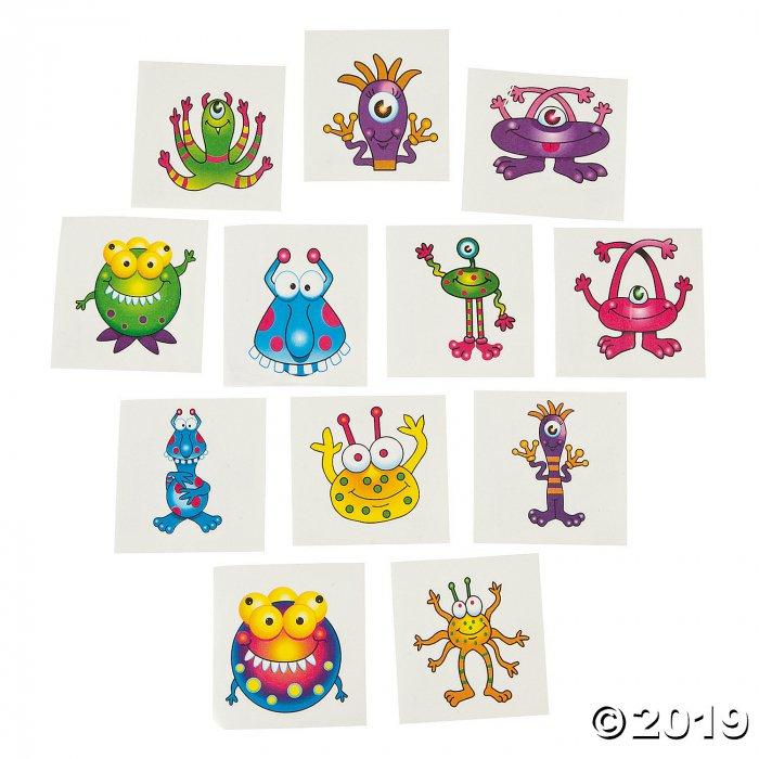 Monster Tattoos (72 Piece(s))