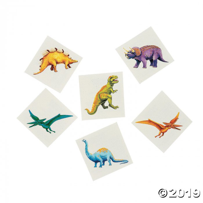 Cool Dinosaur Tattoos (72 Piece(s))