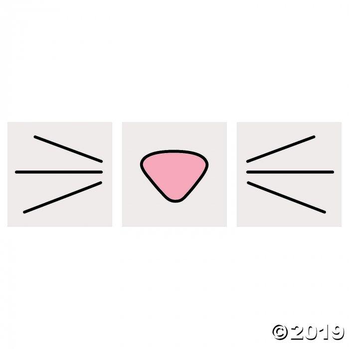 Bunny Face Tattoos (72 Piece(s))