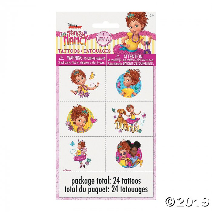 Disney Fancy Nancy Temporary Tattoos (24 Unit(s))