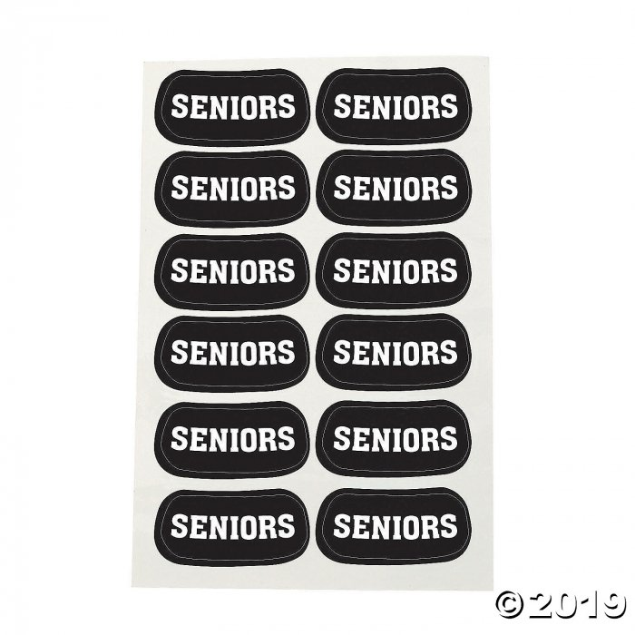 Seniors Eyeblack Temporary Tattoos (Per Dozen)