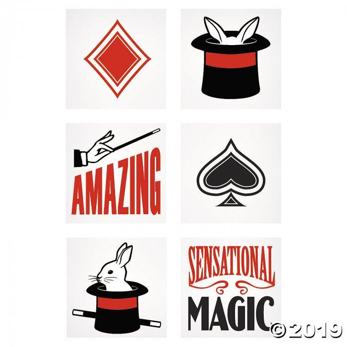 Magic Show Tattoos (72 Piece(s))