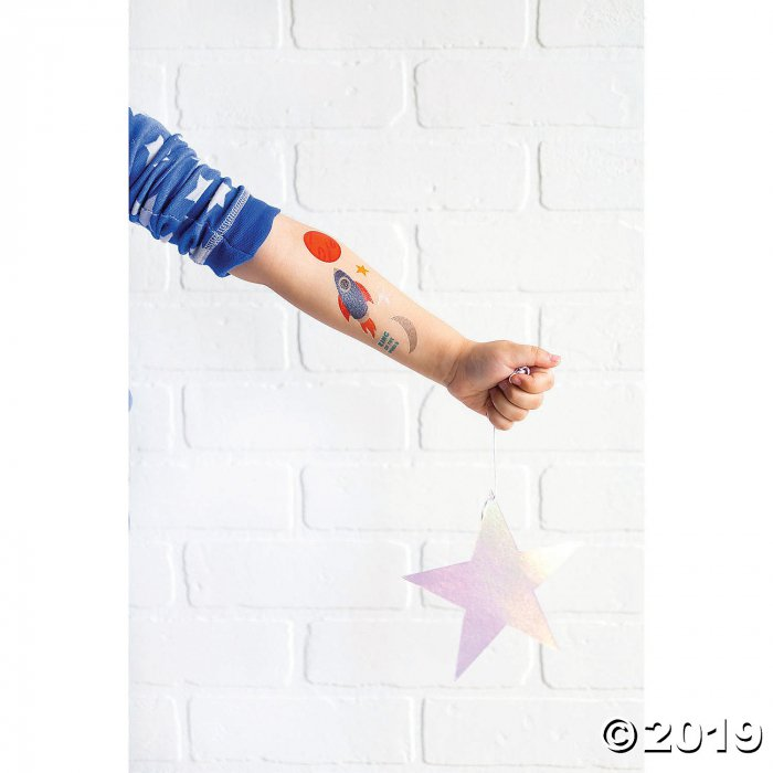 My Mind's Eye™ Rocket Temporary Tattoos (40 Piece(s))