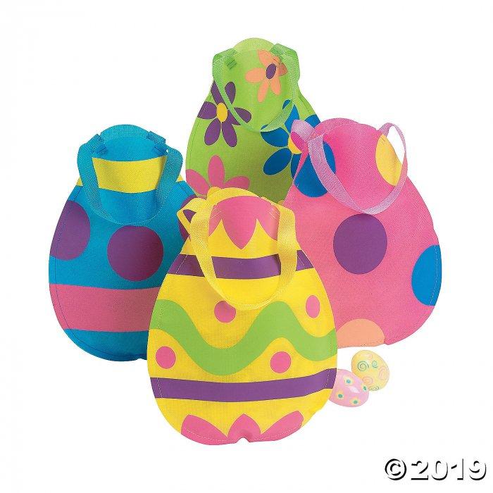 Medium Egg-Cellent Easter Egg Tote Bags (Per Dozen)