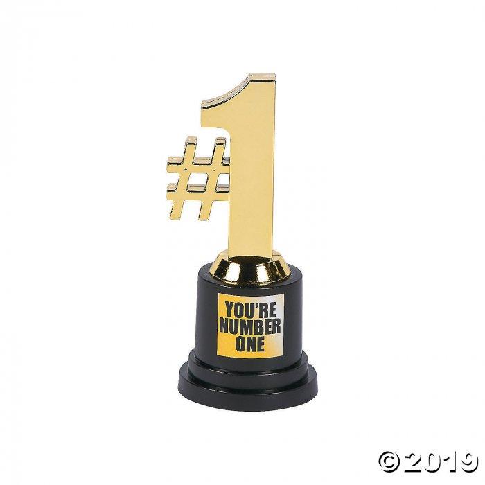 #1 Award Trophies (Per Dozen)