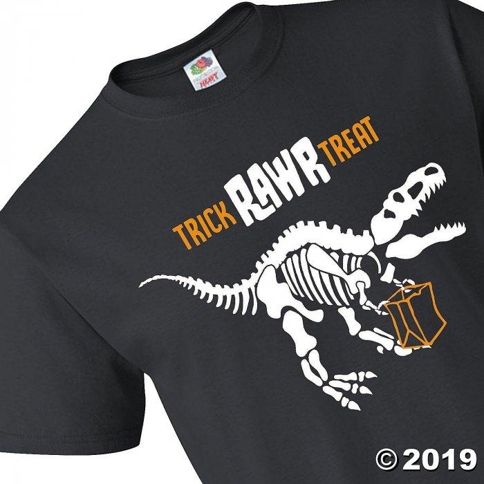 Halloween Dino Youth Short Sleeve T-Shirt - Extra Small (1 Piece(s))