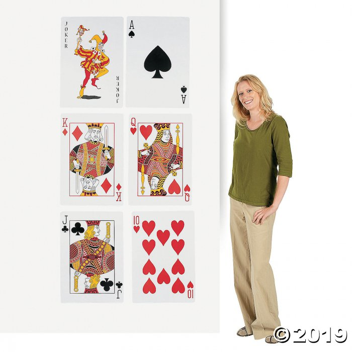 Playing Card Cutouts (1 Set(s))