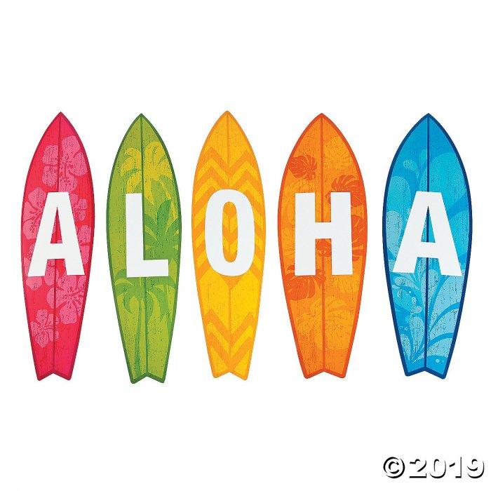 Aloha Surfboard Cutouts (5 Piece(s))