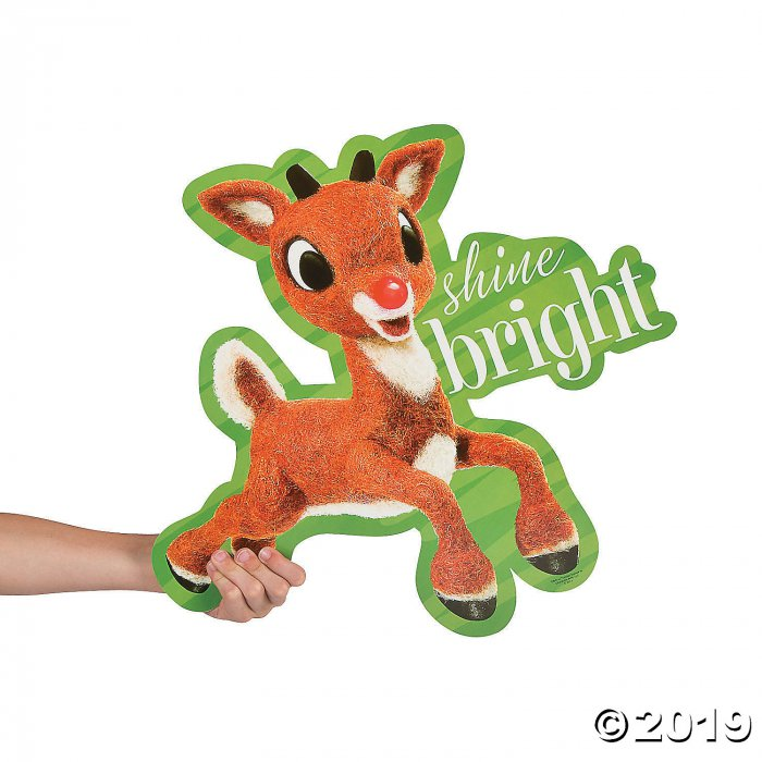 Rudolph the Red-Nosed Reindeer® Christmas Cutouts (6 Piece(s))