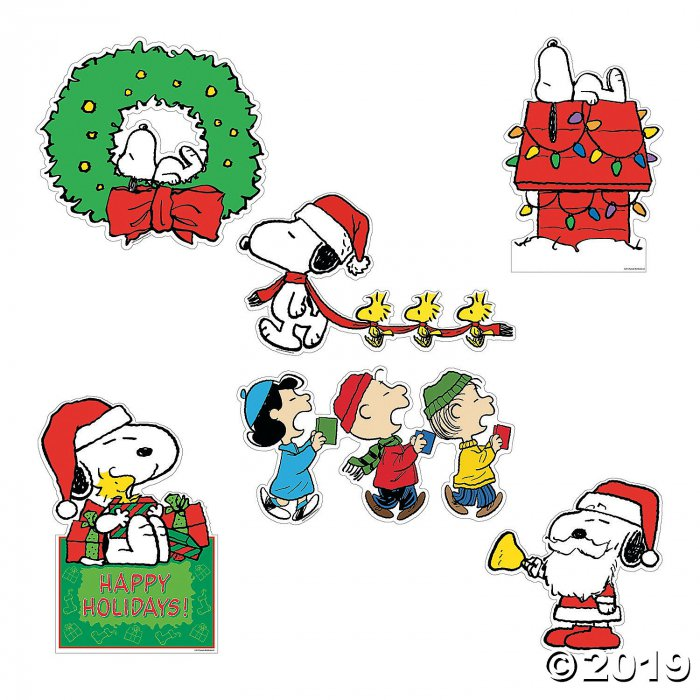 Peanuts® Christmas Cutouts (6 Piece(s))