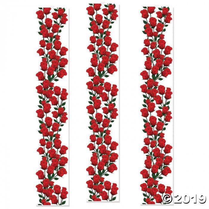 Rose Party Decorative Panels (3 Piece(s))