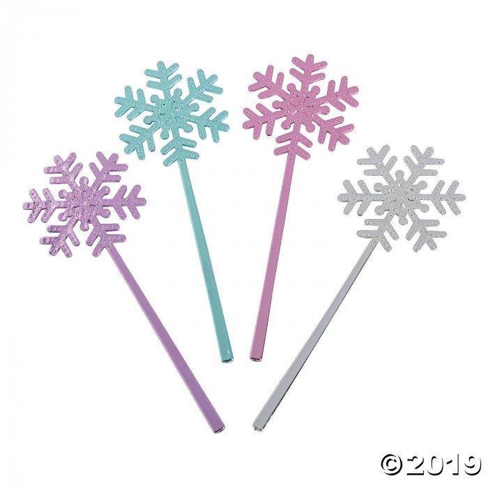 Mini Snowflake Wands (Per Dozen)