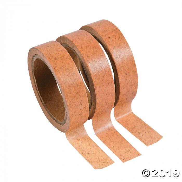 Cork Print Washi Tape (3 Roll(s))