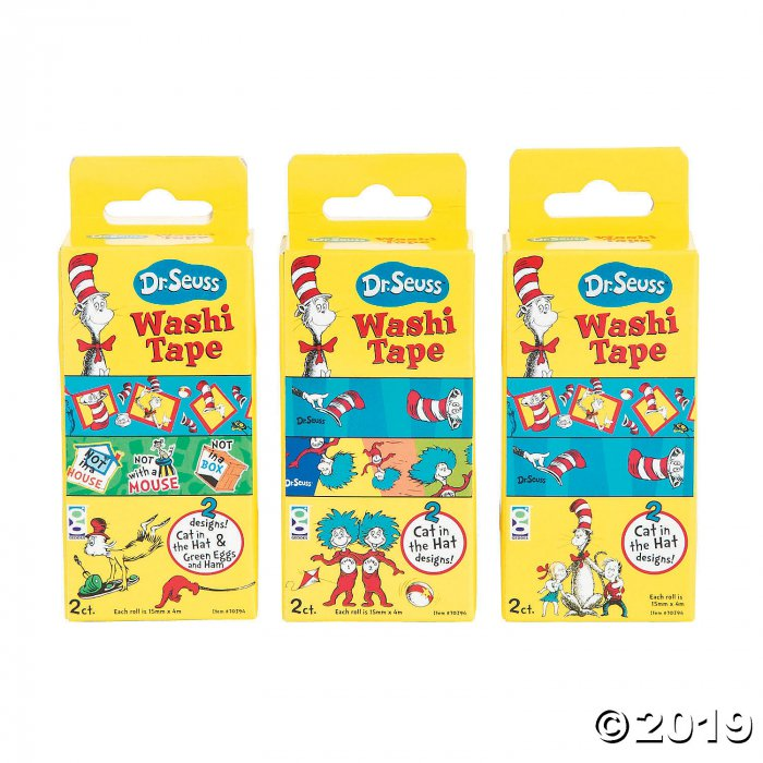 Dr. Seuss™ Washi Tape (24 Piece(s))