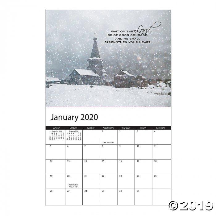2020 Religious Wall Calendar (1 Piece(s))