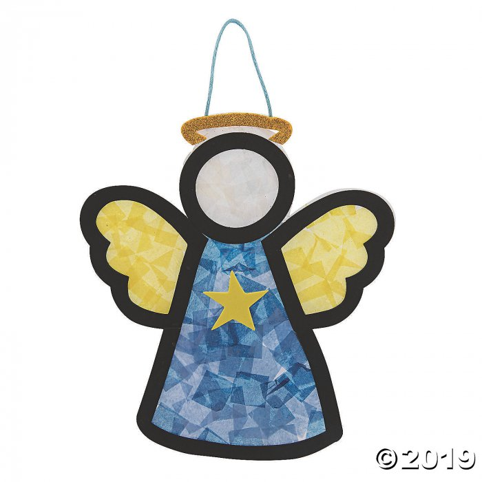 Angel Tissue Paper Craft Kit (Makes 12)