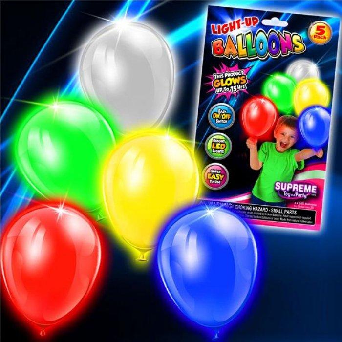 LED Balloon Lights (Per 5 pack)