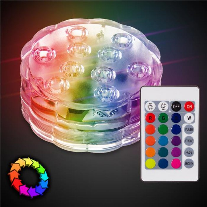 LED Underwater Light with Remote