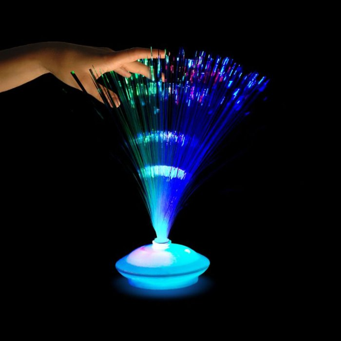 "LED Fiber Optic 12"" Centerpiece"