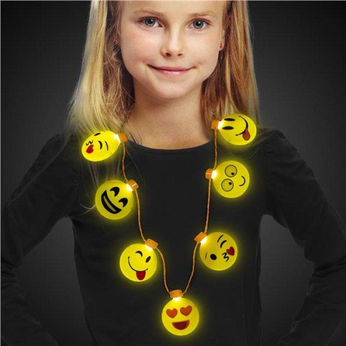 LED Emojicon Necklace