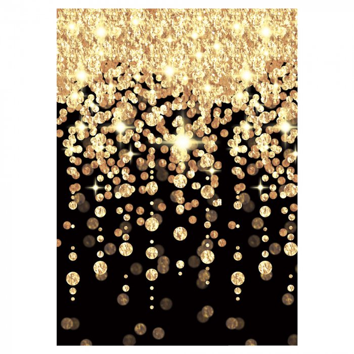 Glitz & Glam Cascading Lights Room Roll (Per 40' roll)