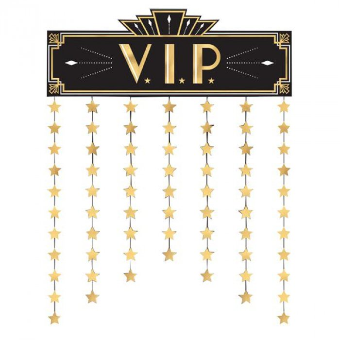 Glitz & Glam VIP Door Curtain