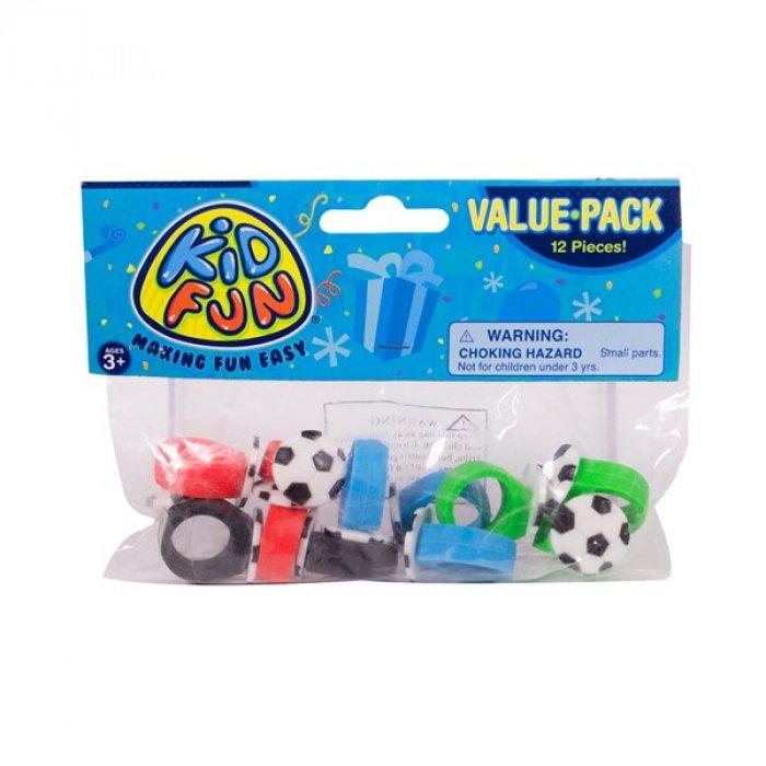 Soccer Ball Rings (Per 12 pack)