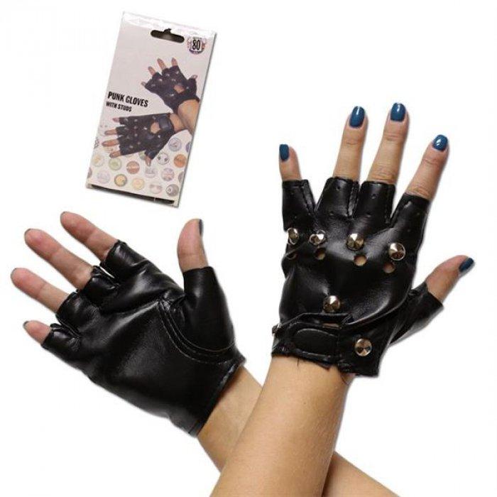Black Fingerless Gloves (Per pair)
