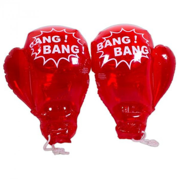 "Inflatable 18"" Boxing Gloves (Per pair)"