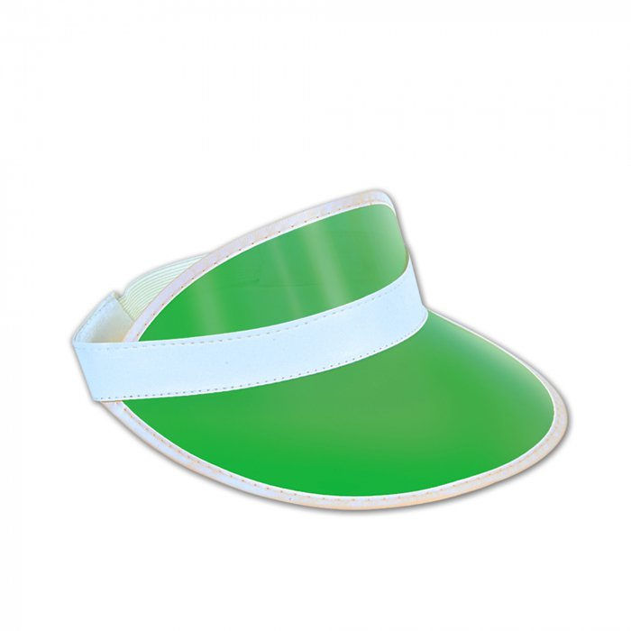 Clear Green Visor