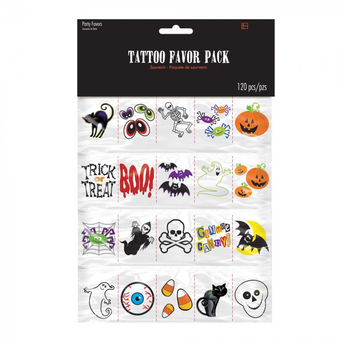 Halloween Tattoos (Per 120 pack)