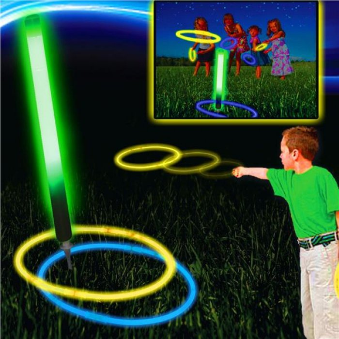 Glow Ring Toss Game (Per Unit)