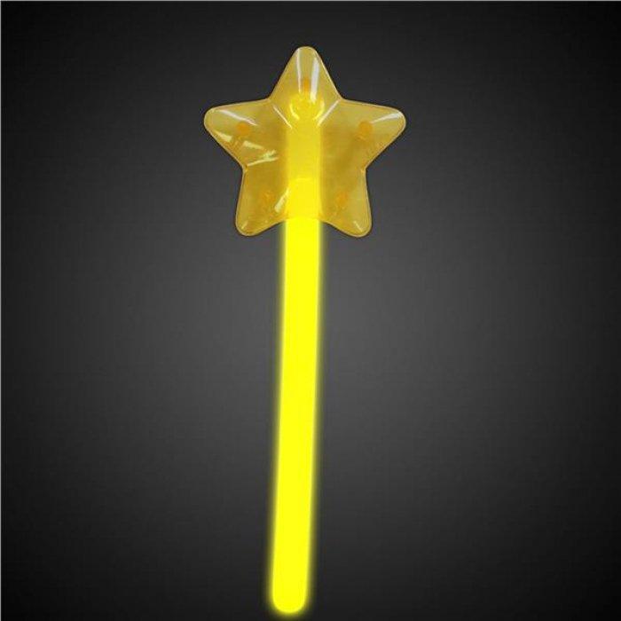 Yellow Star Glow Wand